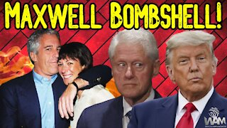 Ghislaine Maxwell BOMBSHELL: Hidden Epstein Tapes Of Clinton & Trump Could BRING DOWN Establishment!