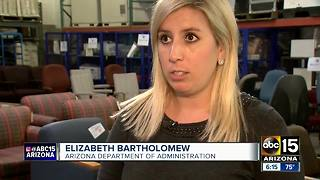 TSA continues monthly luggage sale at Sky Harbor Airport - Video