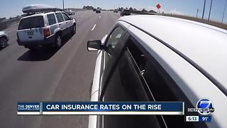 Car insurance rates on the rise - Video