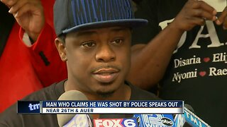 Man claims that he was shot by police speaks out