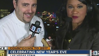 New Year's countdown at Ghostbar - Video