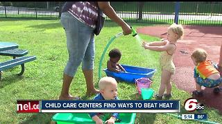 Day care center takes extra precautions during excessive heat