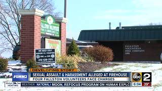 Sexual assault & harassment alleged at firehouse - Video