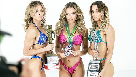 World's Only Bodybuilding Triplets Face Off
