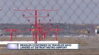 Case of measles confirmed in international traveler returning to metro Detroit on March 6