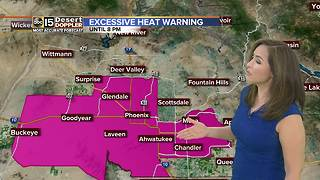 Excessive Heat Warning in effect Monday - Video