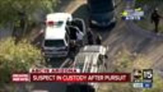 Multiple suspects in custody after Valley-wide pursuit - Video