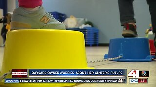 Daycare owner worried about her center's future