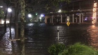 Jacksonville Reports Record-Breaking Flooding - Video