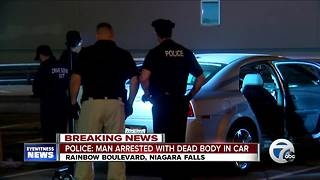 Police: Murder suspect drives to Niagara Falls - Video