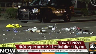 MCSO deputy, wife struck by van in Cave Creek - Video