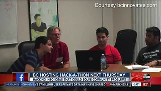 BC holding a hack-a-thon for students to come up with solutions to everyday problems - Video