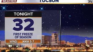 Chief Meteorologist Erin Christiansen's KGUN 9 Forecast Tuesday, November 29, 2016 - Video