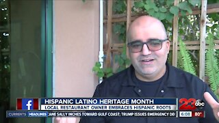 Bakersfield restaurant owner embraces Hispanic roots