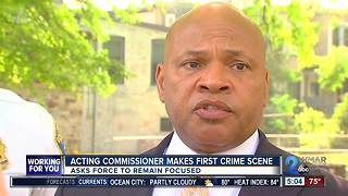 Acting Commissioner to BPD: remain focused - Video