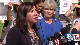 Florida Democrats hold news conference on recount