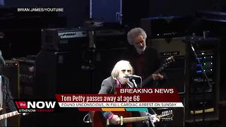 Rock legend Tom Petty dead at 66 - Video