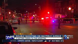 Double Shooting Mayfield Ave
