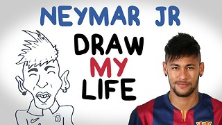 Neymar | Draw My Life - Video
