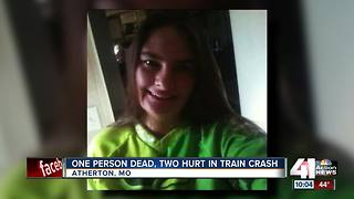 Mother killed, man and child hurt after collision with train - Video