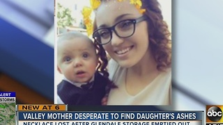 Valley mom asking for baby's ashes back - Video