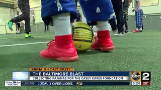 Good morning from the Baltimore Blast's goalkeeper - Video