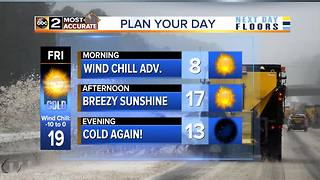 Wind Chill Advisory in effect for Maryland - Video