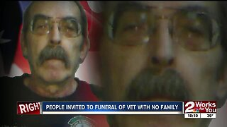 People invited to funeral of Oklahoma veteran with no family