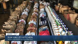Sun Valley Kitchen seeing huge damand for food assistance