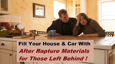 After Rapture Materials in Our Homes & Cars for the Left Behind - Barry Scarbrough [mirrored]
