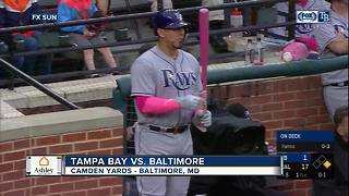 Joey Rickard homers twice, Baltimore Orioles rout Tampa Bay Rays 17-1 - Video
