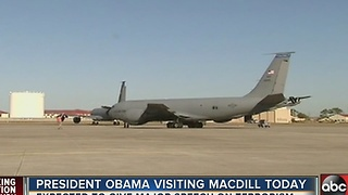 President Obama visiting MacDill on Tuesday - Video