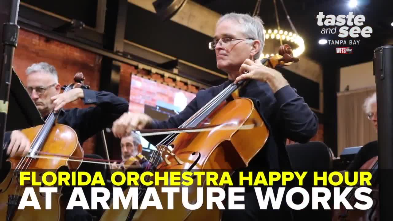 Florida Orchestra Happy Hour Concert at Armature Works   Taste and See Tampa Bay