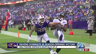 Ravens Dominate In Season Opening Victory - Video