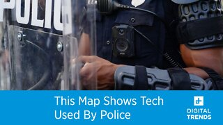This Map Shows Tech Used By Police