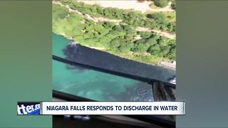 DEC is Investigating the Discharge in Niagara Falls - Video