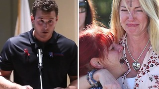 Cubs First Baseman Anthony Rizzo Delivers Emotional Speech at Florida School Shooting Vigil