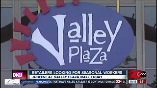 The  Kern County Department of Human Services hosts Job Fest at Valley Plaza - Video