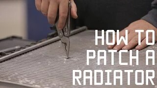 How to Fix and Patch a Radiator | Vehicle Survival skills | Tactical Rifleman