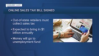 Gov. Ron DeSantis quietly signs online sales tax bill into law
