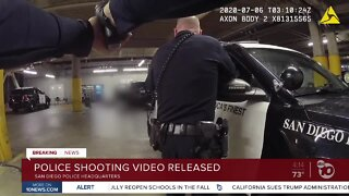 Police shooting video released
