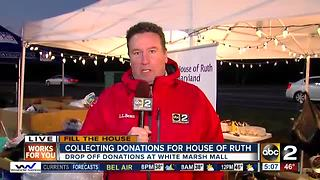 Community helps ABC2 fill the House of Ruth for this holiday season - Video