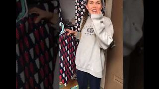 That's a Wrap! College Student Gets Pranked With a Room Full of Presents