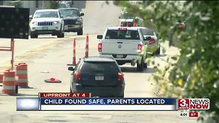 Missing child found 4:30p.m.