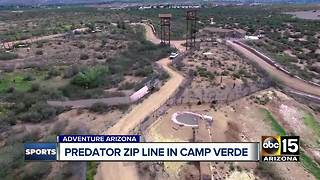 Predator zip line adventure at Out of Africa Wildlife Park - Video