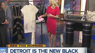 'Detroit Is The New Black' contributes to fashion comeback in Detroit - Video
