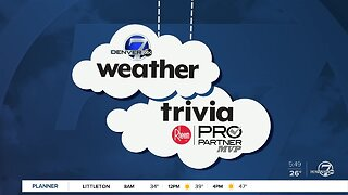 Weather trivia: March snow!