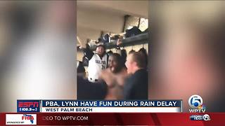 Palm Beach Atlantic, Lynn rain delay fun - Video