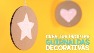 Crea tus propias guirnaldas decorativas - Video