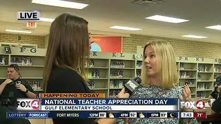 Gulf Elementary School celebrates Teacher Appreciation Week